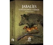 JABALIES CON ESCOPETA Y PERROS