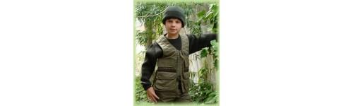 Chaleco de caza para niños